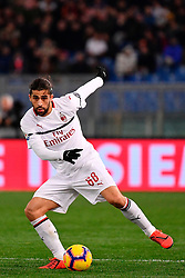 03.02.2019, Stadio Olimpico, Rom, ITA, Serie A, AS Roma vs AC Milan, 22. Runde, im Bild rodriguez // rodriguez during the Seria A 22th round match between AS Roma and AC Milan at the Stadio Olimpico in Rom, Italy on 2019/02/03. EXPA Pictures &copy; 2019, PhotoCredit: EXPA/ laPresse/ Alfredo Falcone<br /> <br /> *****ATTENTION - for AUT, SUI, CRO, SLO only*****