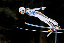 Anastasiya Barannikova from Russia during Qualification Round at Day 2 of FIS Ski Jumping World Cup Ladies Ljubno 2018, on January 27, 2018 in Ljubno ob Savinji, Slovenia. Photo by Urban Urbanc / Sportida