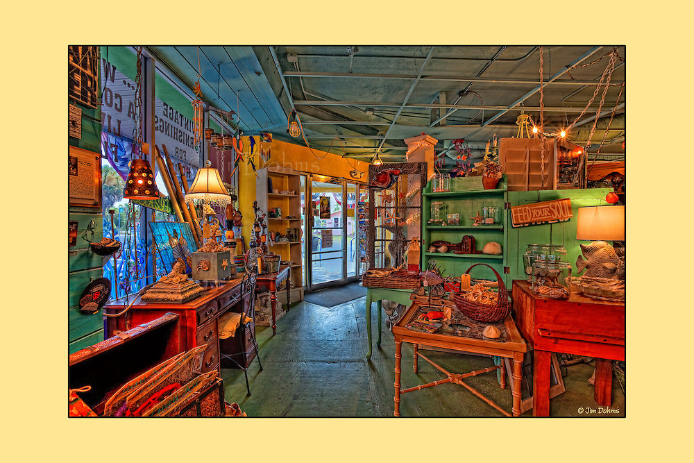 """If you are on Anna Maria Island a """"must visit"""" destination is Ginny and Jane E's at the Old IGA. Serving great coffee, sandwiches and deserts this internet cafe also sells everything else. Everything  shown in the series is for sale ( well almost everything)."""