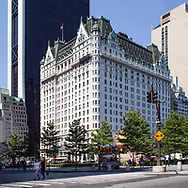The Plaza hotel in New York City.