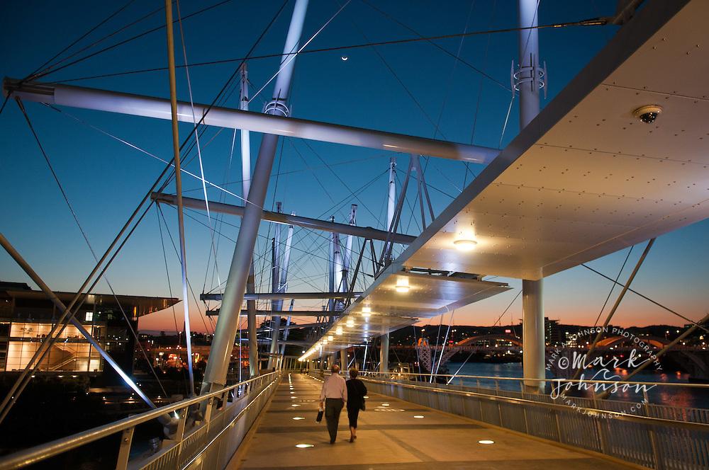 Kurilpa Bridge, Brisbane, Queensland, Australia