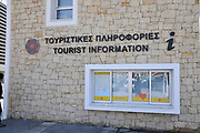 Tourist information office, Limassol, Cyprus