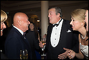 VLADIMIR POSNER; STEPHEN FRY, The Old Russian New Year's Eve Gala. In aid of the Gift of Life foundation. Savoy Hotel, London. 13 January 2015.