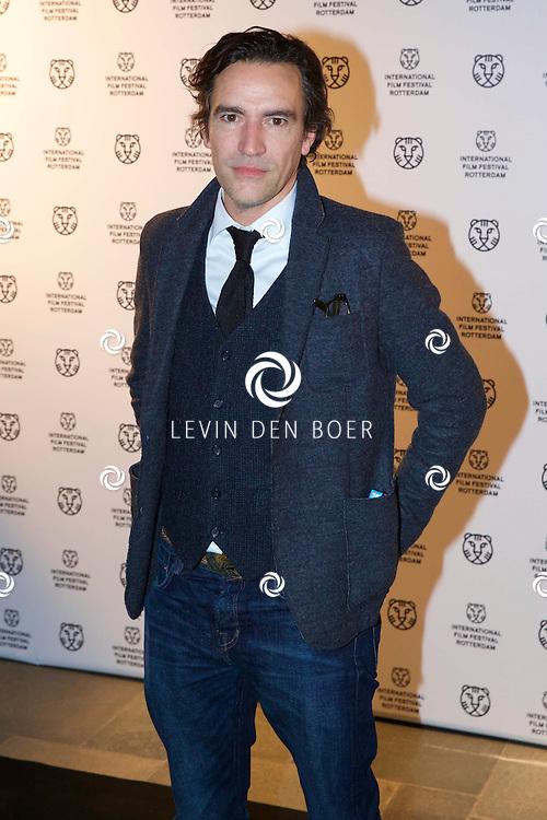 ROTTERDAM - In Theater De Goede Doelen is de 44ste International Film Festival Rotterdam geopend. Diversen genodigden en internationale sterren waren hierbij aanwezig. Met hier op de foto Acteur Ben Chaplin. FOTO LEVIN DEN BOER - PERSFOTO.NU