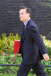 Downing Street, London, May 17th 2016. Welsh Secretary Alun Cairns arrives at the weekly cabinet meeting in Downing Street.