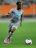 Newcastle United's Vurnon Anita against Sydney FC in the first match of the Football United Tour at Forsyth Barr Stadium, Dunedin, New Zealand, Tuesday, July 22, 2014.