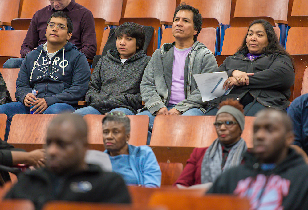 Bond community meeting at Madison High School, December 3, 2015.