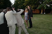 PETRINA KHASSHOGGI AND LORD EDWARD CHURCHILL, The Summer Party in association with Swarovski. Co-Chairs: Zaha Hadid and Dennis Hopper, Serpentine Gallery. London. 11 July 2007. <br />