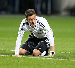 15.10.2013, Friends Arena, Stockholm, SWE, FIFA WM Qualifikation, Schweden vs Deutschland, Gruppe C, im Bild Germany 8 Mesut &Ouml;zil, , , Nyckelord , Keywords : football , fotboll , soccer , FIFA , World Cup , Qualification , Sweden , Sverige , Schweden , Germany , Tyskland , Deutschland portr&copy;tt portrait // during the FIFA World Cup Qualifier Group C Match between Sweden and Germany at the Friends Arena, Stockholm, Sweden on 2013/10/15. EXPA Pictures &copy; 2013, PhotoCredit: EXPA/ PicAgency Skycam/ Ted Malm<br /> <br /> ***** ATTENTION - OUT OF SWE *****