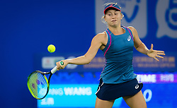 September 26, 2018 - Daria Gavrilova of Australia in action during the third-round match at the 2018 Dongfeng Motor Wuhan Open WTA Premier 5 tennis tournament (Credit Image: © AFP7 via ZUMA Wire)