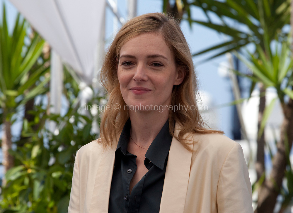 Actress Kate Moran at the Knife + Heart (Un Couteau Dans Le Coeur) film photo call at the 71st Cannes Film Festival, Friday 18th May 2018, Cannes, France. Photo credit: Doreen Kennedy