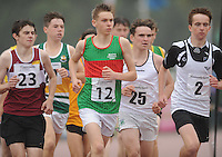 21 Aug 2016:   Boys U16 1500m final.  2016 Community Games National Festival 2016.  Athlone Institute of Technology, Athlone, Co. Westmeath. Picture: Caroline Quinn