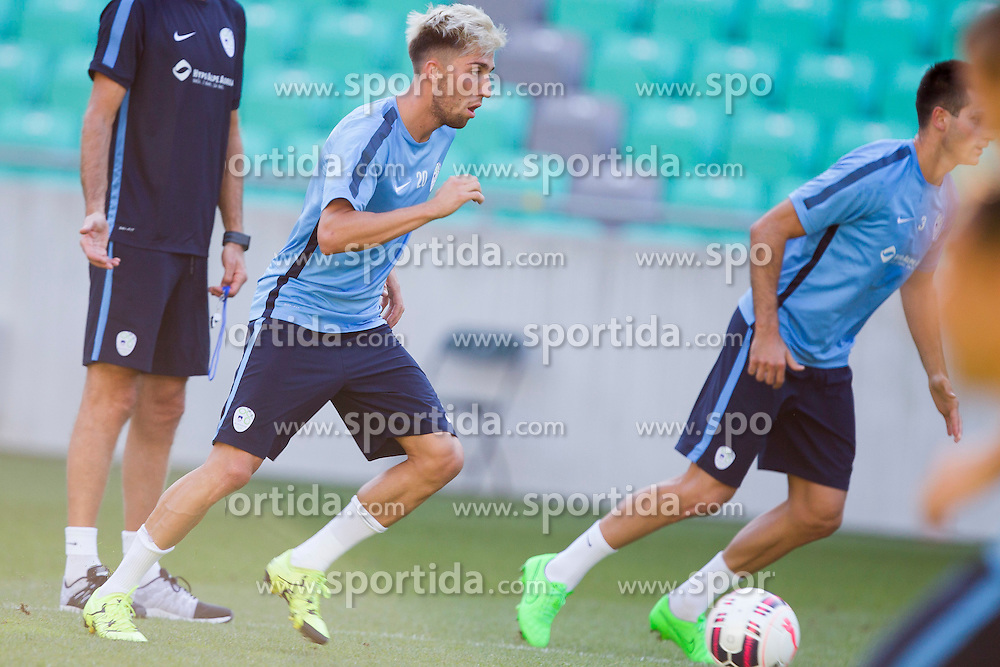 Kevin Kampl during practice session of Slovenian National Football Team before Euro 2016 Qualifications match against Switzerland, on September 1, 2015 in SRC Stozice, Ljubljana, Slovenia. Photo by Urban Urbanc / Sportida