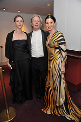 Left to right, MONIQUE MARCHETTO, Artistic Director of English National Ballet WAYNE EAGLING and OLGA BALAKLEETS at the Russian Ballet Icons Gala and Dinner - 100 Galina Ulanova held at The London Coliseum (English national Opera) St.Martin's Lane, London on 15th May 2011.