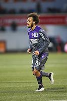 Martin BRAITHWAITE - 18.04.2015 - Lorient / Toulouse - 33eme journee de Ligue 1<br />Photo : Vincent Michel / Icon Sport