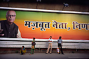 Election poster for the BJP party.