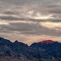 Sunset from Mesquite Springs