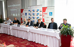 30.08.2016, ARCOTEL Kaiserwasser, Wien, AUT, HLA, Pressekonferenz, Saisoneroeffnung im Bild der Presseraum // during the HLA opening Press Conference at the ARCOTEL Kaiserwasser, Vienna, Austria on 2016/08/30. EXPA Pictures © 2016, PhotoCredit: EXPA/ Sebastian Pucher