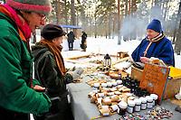 Scenes from Jokkmokk Sami Market in Sweden