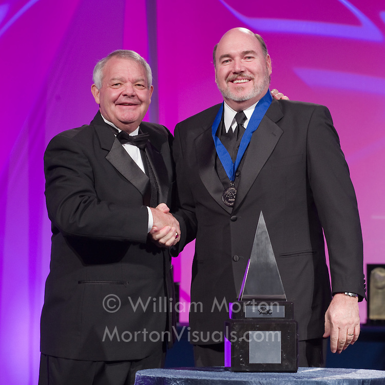 An award winner at the Associated Builders & Contractors (ABC) convention at the Hilton San Diego Bayfront. Photography by Dallas event photographer William Morton of Morton Visuals event photography.