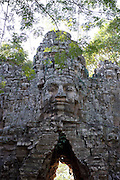 West Gate, Angkor Thom, Siem Reap, Cambodia