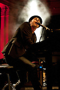 Gavin DeGraw performing at the Newport Music Hall in Columbus, OH on October 10, 2011
