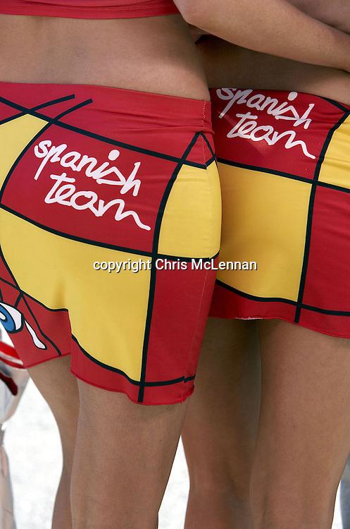 Fortuna Pit Girls. 2005 Polini Australian Grand Prix. Phillip Island. Australia