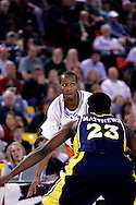 26 November 2005: Tarence Kinsey, senior Gamecock forward, in the South Carolina Gamecock overtime loss, 89-92 to the Golden Eagles of Marquette in the final game of the Great Alaska Shootout in Anchorage, Alaska