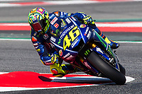 Valentino Rossi of Italy and Movistar Yamaha MotoGP  rides during free practice for the MotoGP of Catalunya at Circuit de Catalunya on June 10, 2017 in Montmelo, Spain.(ALTERPHOTOS/Rodrigo Jimenez)