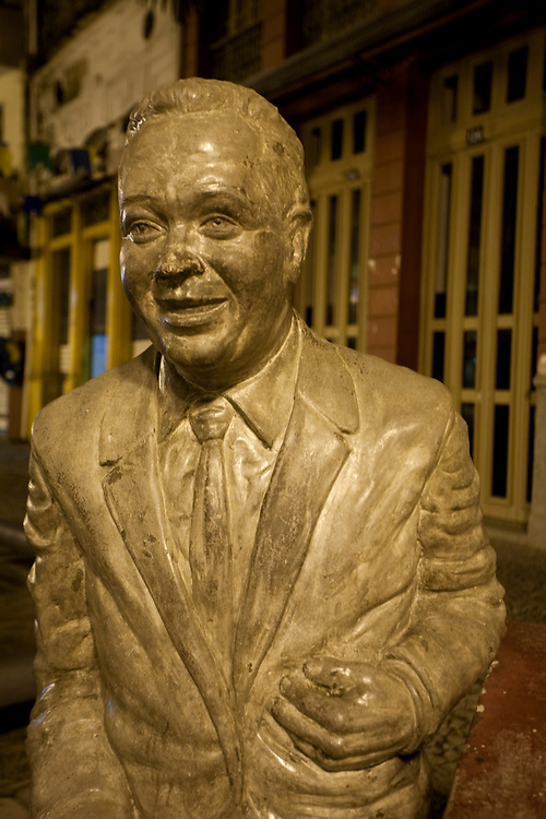 Recife_PE, Brasil..Estatua no centro historico de Recife, Pernambuco....Foto: JOAO MARCOS ROSA / NITRO