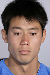 May 7, 2018 - Madrid, Spain - Kei Nishikori  press conference during day three of the Mutua Madrid Open tennis tournament at the Caja Magica on May 7, 2018 in Madrid, Spain. (Credit Image: © Oscar Gonzalez/NurPhoto via ZUMA Press)