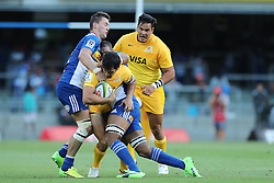 Felipe Ezcurra of the Jaguares during the Super Rugby match between DHL Stormers and Jaguares held at DHL Newlands in Cape Town, South Africa on the 4th March 2017.<br /> <br /> Photo by Ron Gaunt/Villar Press