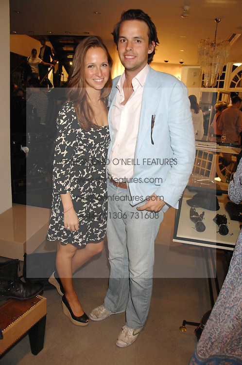 CHARLIE GILKES and MISHA NONOO at a party to celebrate the launch of Diesel's new mens &amp; womens fragrances 'Fule for Life' at their newly reopened store on the Kings Road, London on 13th September 2007.<br />