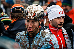 Laurens SWEECK of Belgium after finishing the Men Elite race, UCI Cyclo-cross World Championship at Bieles, Luxembourg, 29 January 2017. Photo by Pim Nijland / PelotonPhotos.com | All photos usage must carry mandatory copyright credit (Peloton Photos | Pim Nijland)