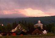 Breckenridge and Bald Mountain after a Spring Storm, Breckenridge, Colorado