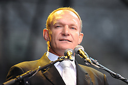 Dec. 11, 2013 - Cape Town, Western Cape, South Africa - FRANCOIS PIENAAR (1995 Rugby World Cup winner and Sprinkbok captain) during the City of Cape Town hosted concert at the 45000 seater Cape Town Stadium called ''Nelson Mandela - A life Celebrated''. Nelson Mandela was the first democratically elected president of South Africa, Wednesday, 11th December 2013. Picture by Roger Sedres / i-Images (Credit Image: © Roger Sedres/i-Images/ZUMAPRESS.com)