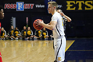 February 1, 2018 - Johnson City, Tennessee - Freedom Hall: ETSU guard Dillon Reppart (23)<br /> <br /> Image Credit: Dakota Hamilton/ETSU