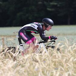 21-06-2017: Wielrennen: NK Tijdrijden: Montferlands-Heerenberg (NED) wielrennenMarit Raaijmakers ( Hippolytushoef) pakt zilver