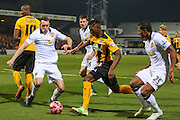 during the The FA Cup match between Cambridge United and Manchester United at the R Costings Abbey Stadium, Cambridge, England on 23 January 2015. Photo by Phil Duncan.