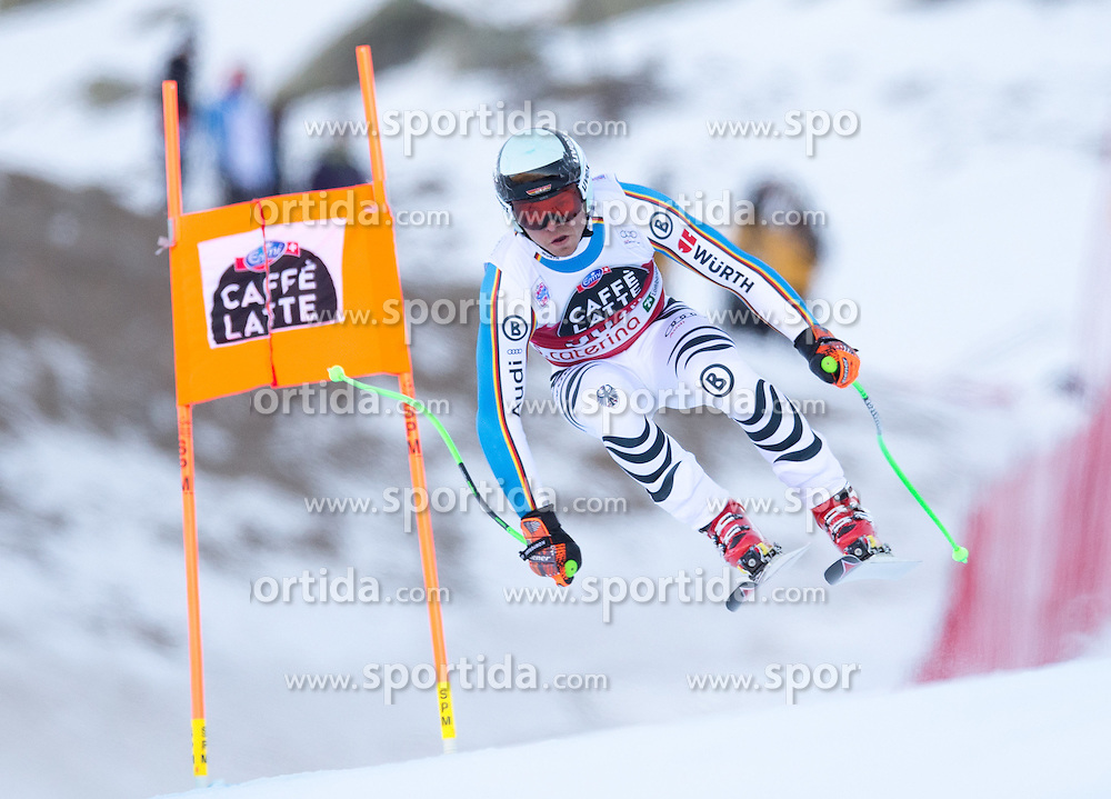 28.12.2015, Deborah Compagnoni Rennstrecke, Santa Caterina, ITA, FIS Ski Weltcup, Santa Caterina, Abfahrt, Herren, 2. Training, im Bild Andreas Sander (GER) // Andreas Sander of Germany in action during the 2nd practice run of men's Downhill of the Santa Caterina FIS Ski Alpine World Cup at the Deborah Compagnoni Course in Santa Caterina, Italy on 2015/12/28. EXPA Pictures © 2015, PhotoCredit: EXPA/ Johann Groder