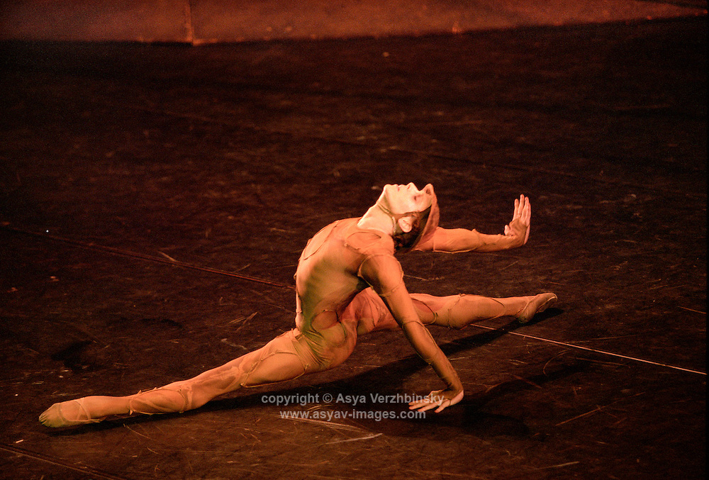Edward Watson in Gloria. Royal Ballet tour, Mariinsky Theatre,St. Petersburg, Russia