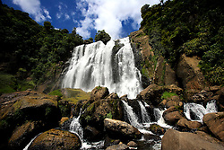 NEW ZEALAND WAITOMO 16DEC07 - Marokopa Falls near Waitomo, western coast of north island, New Zealand...jre/Photo by Jiri Rezac..© Jiri Rezac 2007..Contact: +44 (0) 7050 110 417.Mobile:  +44 (0) 7801 337 683.Office:  +44 (0) 20 8968 9635..Email:   jiri@jirirezac.com.Web:    www.jirirezac.com..© All images Jiri Rezac 2007 - All rights reserved.