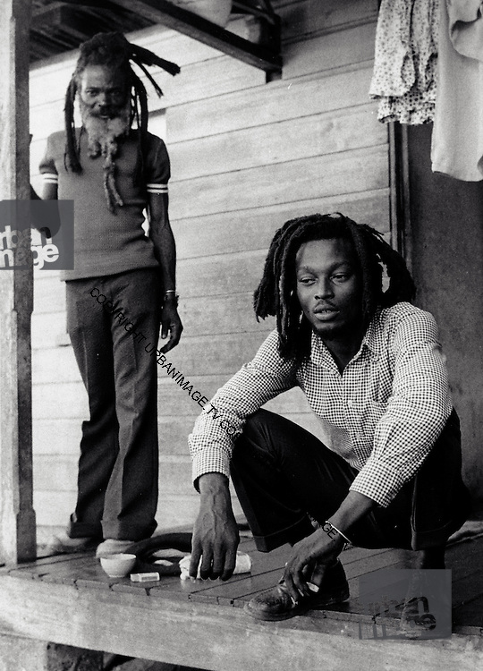 Rasta Father and Son - Port Antonio