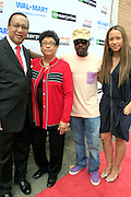 "Dr,. Ben Chavis Muhummad, Dr. Dorothy Cowser Yancy, Anthony Hamilton and Valiesha Butterfield at the Hip-Hop Summit's ""Get Your Money Right"" Financial Empowerment International Tour draws hip-hop stars and financial experts to teach young people about financial literacy held at The Johnson C. Smith University's Brayboy Gymnasium on April 26, 2008..For the past three years, hip-hop stars have come out around the country to give back to their communities. Sharing personal stories about the mistakes they've made with their own finances along the way, and emphasizing the difference between the bling fantasy of videos and the realities of life, has helped young people learn the importance of financial responsibility while they're still young. With the recent housing market crash in the United States affecting the economy, jobs, student loans and consumer confidence, young people are eager to receive sound financial advice on how to best manage their money and navigate through this volatile economic environment.."