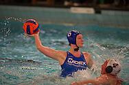 07-05-2014 : WATERPOLO : ZVL - GZC DONK : LEIDEN<br /> <br /> Harri&euml;t Cabout van GZC Donk<br /> Play-offs Eredivisie Dames - Seizoen 2013/2014<br /> <br /> Foto: Gertjan Kooij