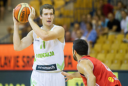 Goran Dragic of Slovenia during friendly match between National teams of Slovenia and Turkey for Eurobasket 2013 on August 4, 2013 in Arena Zlatorog, Celje, Slovenia. (Photo by Vid Ponikvar / Sportida.com)