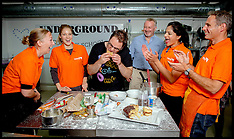 SEP 15 2014 Celebrities and charities compete in Starbucks Cake Off