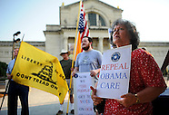 Tea Party protests Affordable Care Act ruling by US Supreme Court