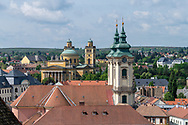 View of Eger from the castle