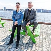 NLD/Amsterdam//20170419 - Lancering nieuwe LINDA.tv serie De Vlucht, Eric Corton en Sinan Eroglu